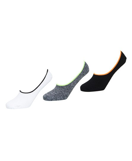 Superdry Coolmax Invisible Socks - 3 Pack