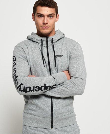 Superdry Sudadera con capucha y cremallera Core Sport