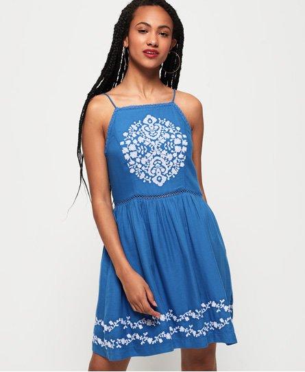 Superdry Vestido estilo delantal Katalina