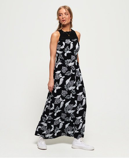 Superdry Alivia Knot Maxi Dress