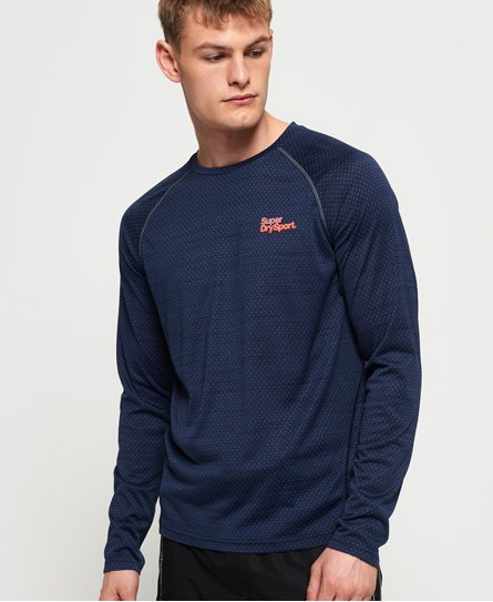 Superdry Active Loose Microvent Long Sleeve T-shirt