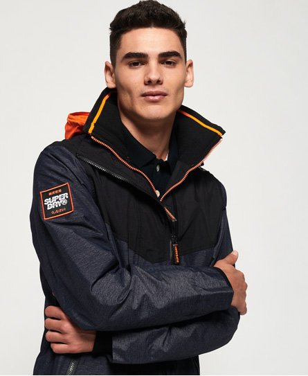 Superdry Hooded Tech Axis Pop Zip SD-Windcheater Jacket