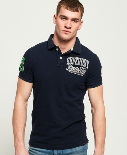 Superdry Polo in piqué Classic Superstate