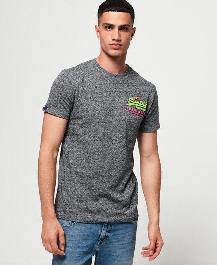 Superdry Vintage Logo Authentic Fluro Tri T-Shirt thumbnail 1