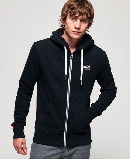 Superdry Orange Label hoodie met rits