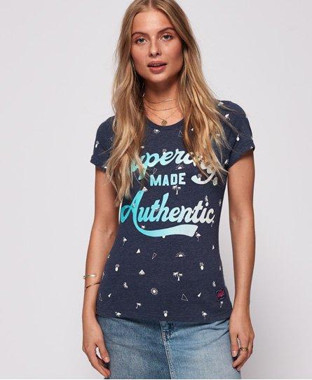 T-shirt Athletic Stars Entry - Superdry - Modalova