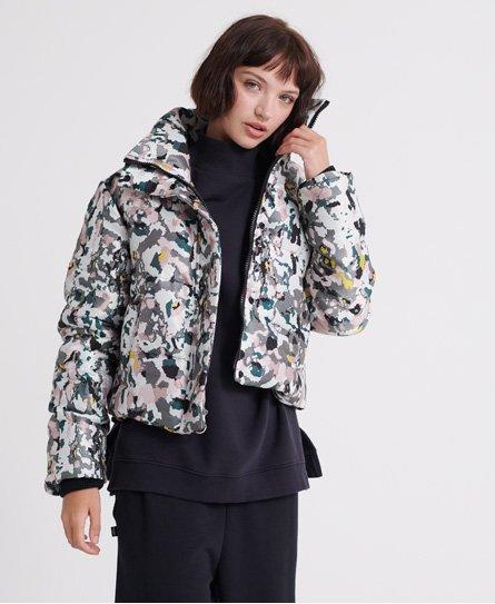 Superdry Jacquard Puffer Jacket