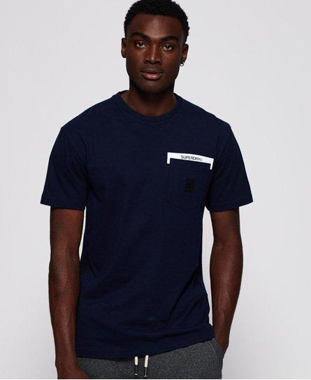 Superdry T-shirt à poche Black Label Edition