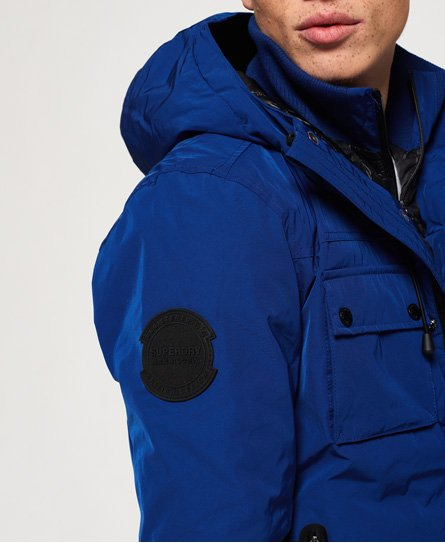 100% genuine world-wide free shipping 100% top quality Mens - Vessel Jacket in Cobalt   Superdry