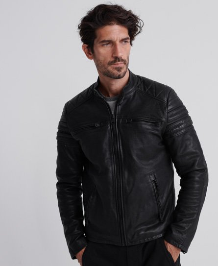Superdry Leather Leather JacketsMen's Leather Superdry JacketsMen's JacketsMen's zSpqUMV
