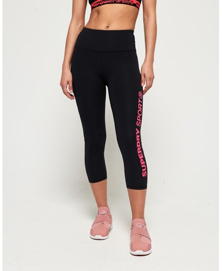 Superdry Leggings capri SD Core Sport Essential