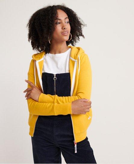 superdry Vintage Logo Monochrome hoodie met rits