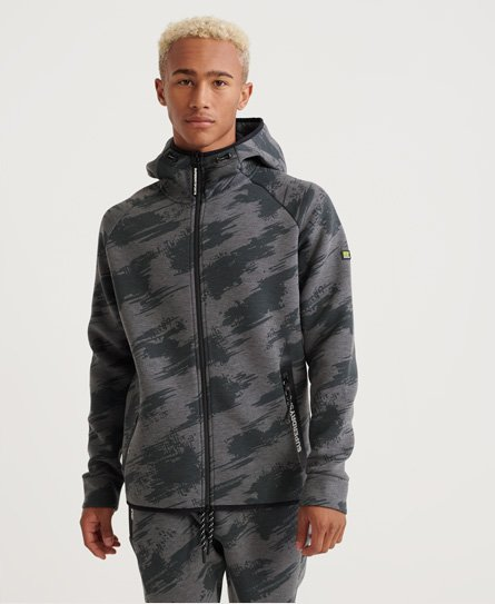 Superdry Core Gym Tech Zip Hoodie