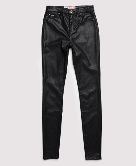 Superdry Sophia Skinny Jeans mit Beschichtung Damen Jeans