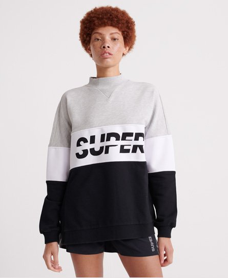 Superdry Sport Pusher Crew