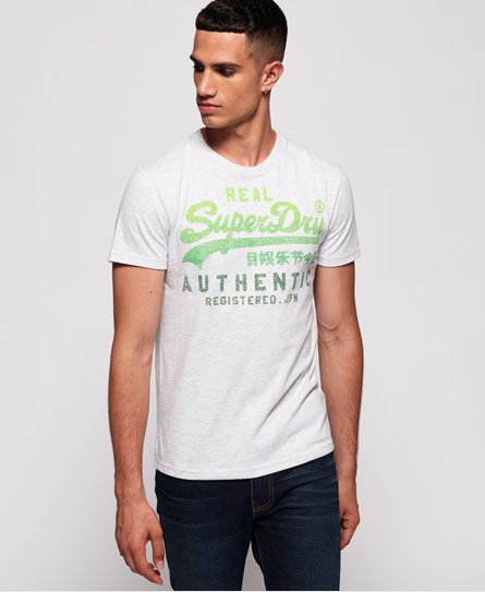 Superdry T-shirt Vintage Authentic Fade