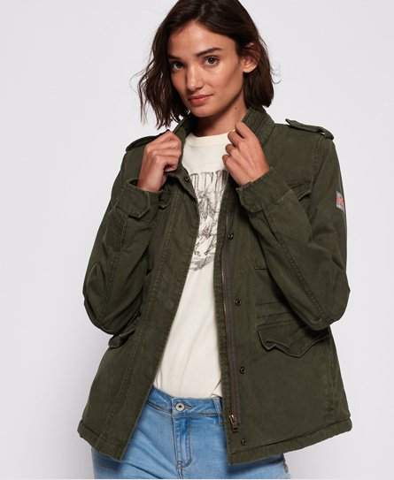 Superdry Classic Sheerpa Rookie Military Jacket