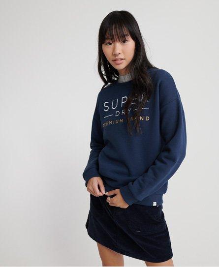 Neue Damen Superdry Printed Hot Shorts Super Rose