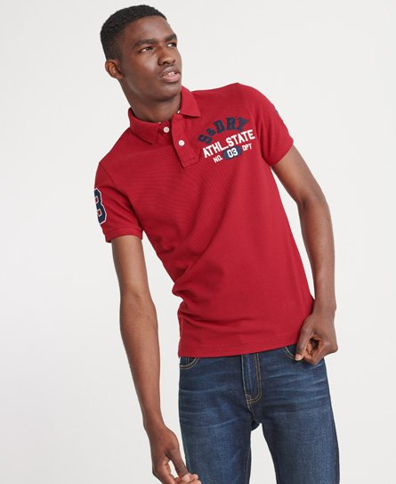 Superdry Organic Cotton Classic Superstate Polo Shirt