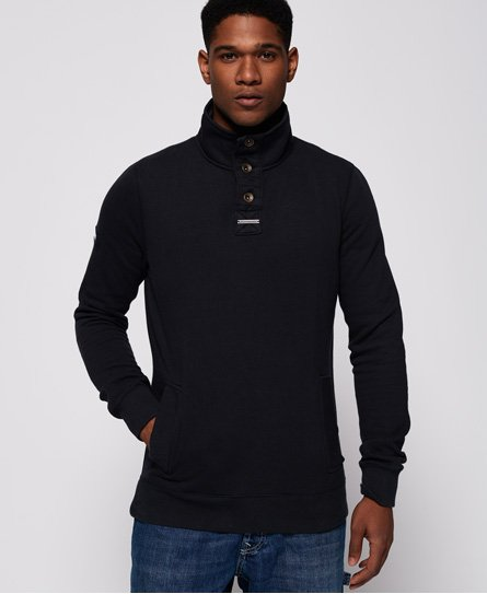 Superdry Academy Long Sleeved Henley Top