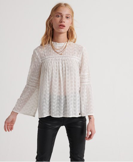 Superdry Taylor Broderie Top