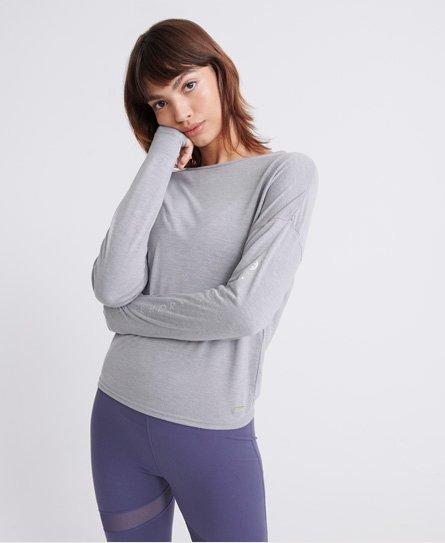 superdry Sweat Shirt Shop hoodie met reliëflogo