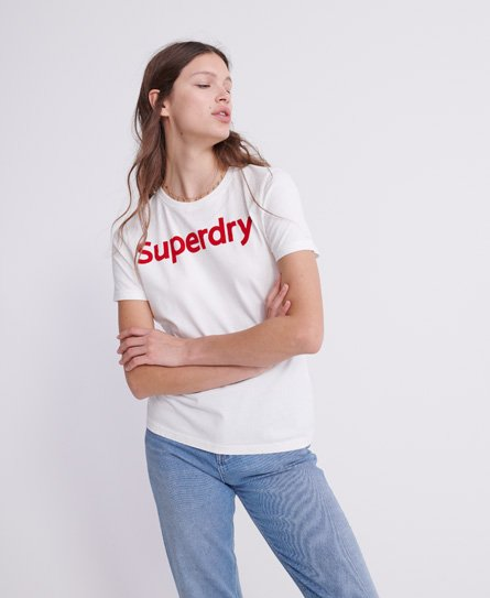 Polo rayé en coton biologique - Superdry - Modalova