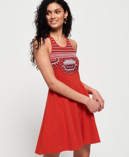 Leah Embroidered Skater Dress146724