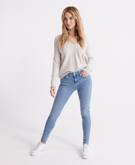 Mid Rise Skinny Jeans166106