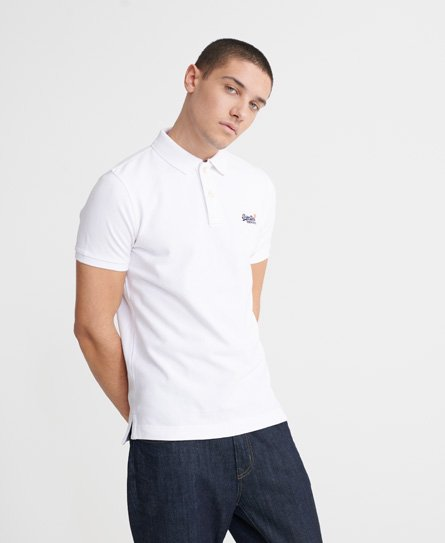 Superdry Organic Cotton Classic Pique Polo Shirt
