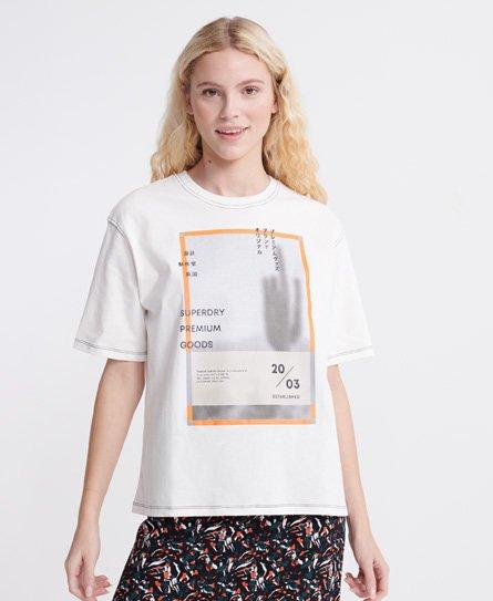 T-shirt à col en V Essential en coton biologique - Superdry - Modalova
