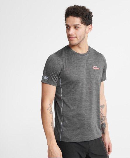 T Shirt Superdry Sport NoirBlanc Homme En Soldes, Vêtements