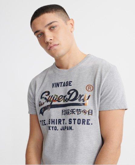 T-Shirt Store Vintage Logo Infill T-Shirt - Superdry - Modalova