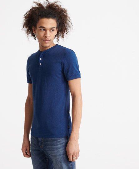 Superdry Kortærmet Heritage henley T shirt Herrer T shirts