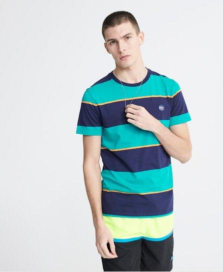 Superdry Collective T-Shirt aus Biobaumwolle mit Streifen