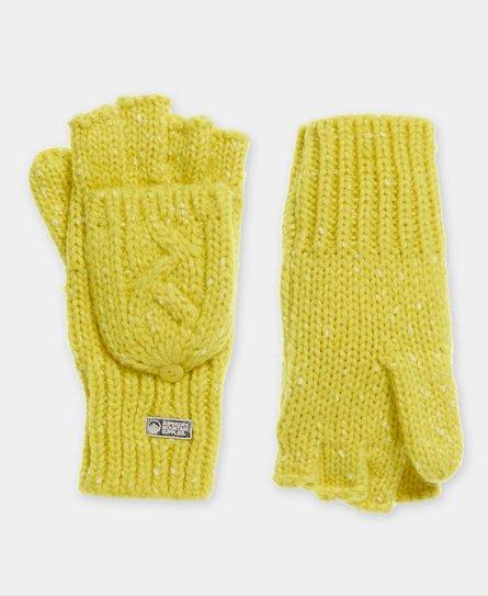 Superdry Gracie Handschuhe mit Zopfmuster