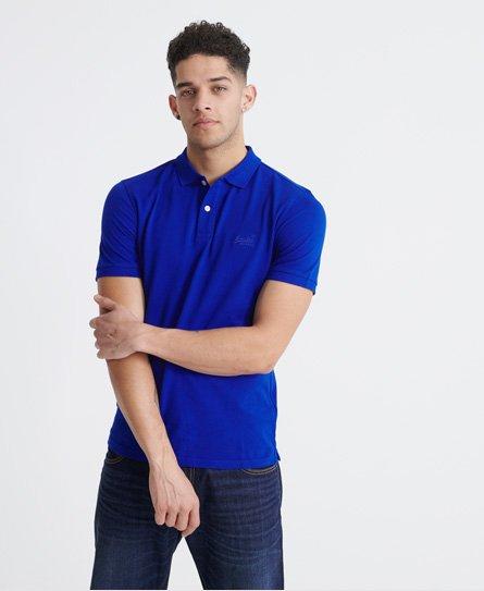 Superdry Organic Cotton Micro Lite Pique Polo Shirt