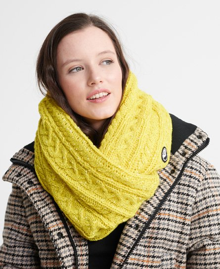 Superdry Gracie Cable Snood
