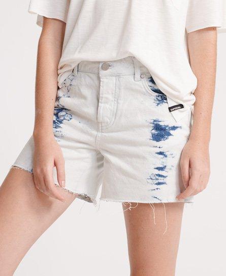 taille W28 short Femme SUPERDRY brodé Short en jean