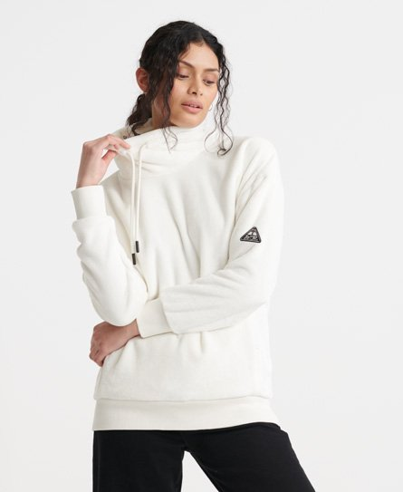 Superdry Storm Plush Overhead Track Top