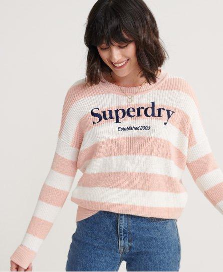 T-shirt imprimé en coton biologique - Superdry - Modalova