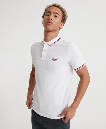 Classic Micro Lite Tipped Short Sleeved Polo165032