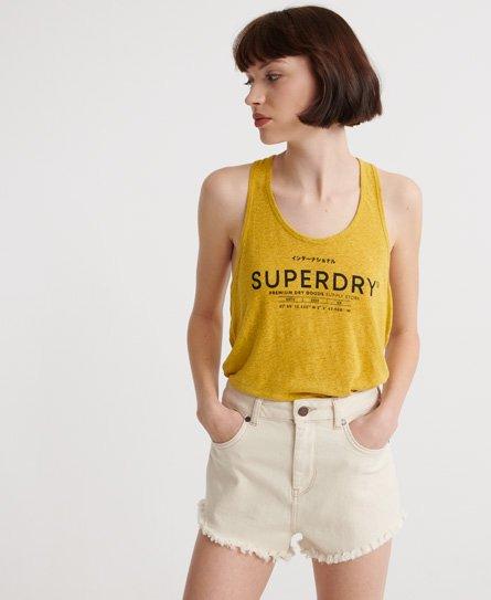 Superdry Desert Linen Vest