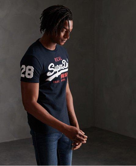 Superdry T-shirt tricolore Vintage Logo