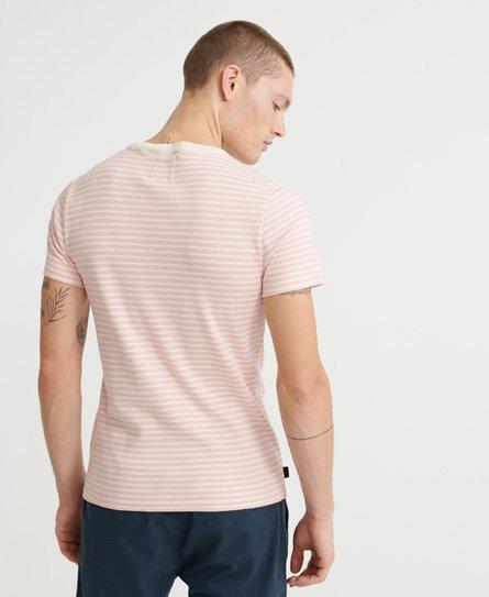 Superdry Edit T skjorte i Pima bomull Herre T skjorter