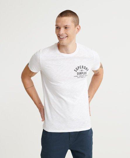 T-shirt uni Vintage Logo brodé - Superdry - Modalova