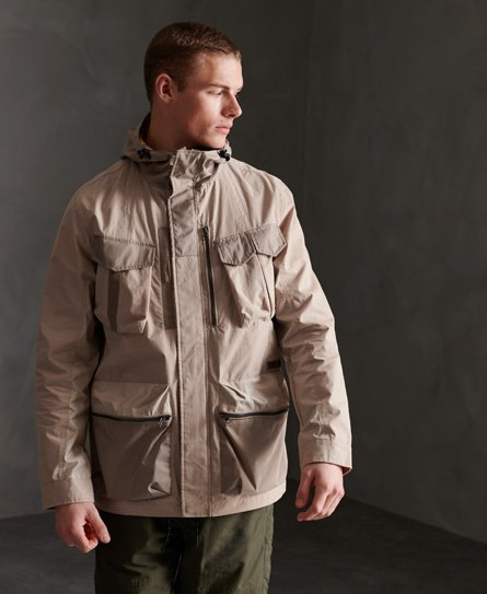 Coolred-Men Winter Casual with Pockets Zip Multicamo Quilted Jacket