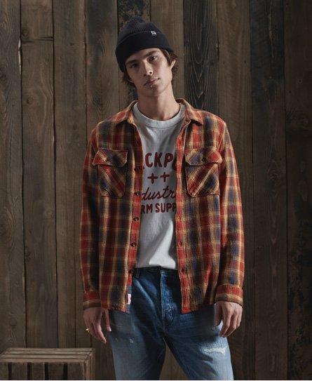 Dry Long Sleeve Check Shirt179974