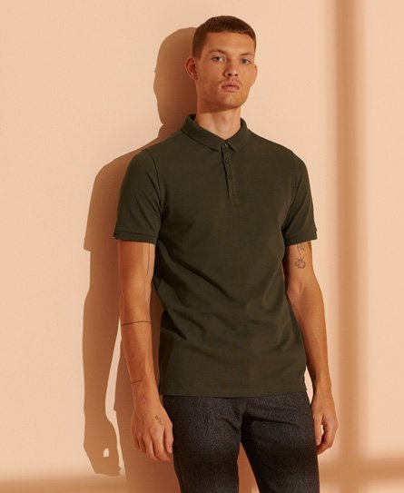 Superdry Polo en piqué Refined