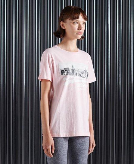 T-shirt à photo NYC Vintage Logo - Superdry - Modalova